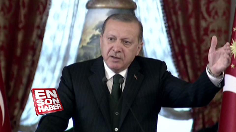 Erdoğan: ABD bunu nasıl izah edecek