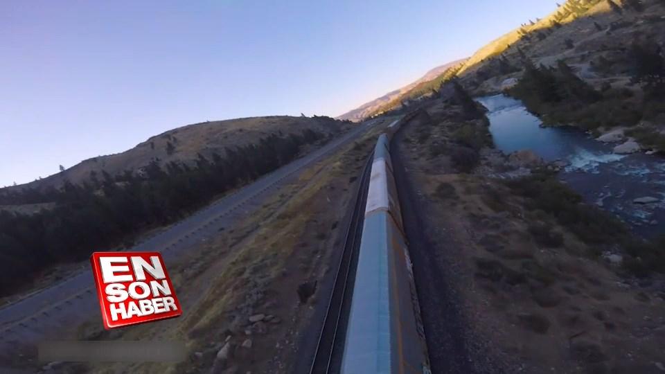 Drone ile yapılan inanılmaz akrobatik çekimler