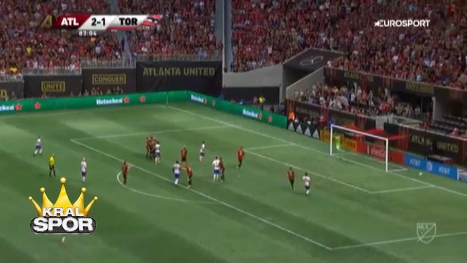 Giovinco'dan harika frikik golü