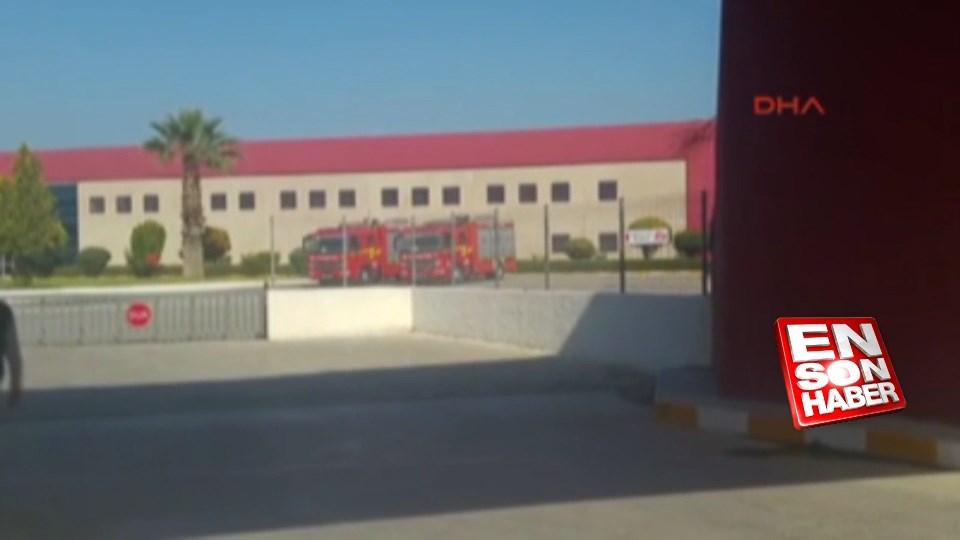 Denizli'de fabrikada doğalgaz sızıntısı: 37 işçi yaralı