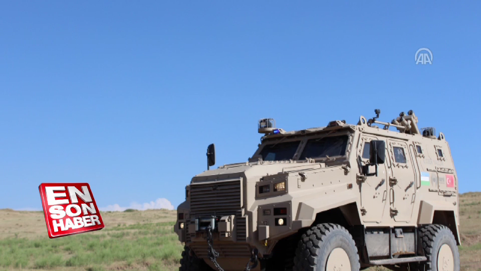 Özbekistan'a Türk zırhlısı: Ejder Yalçın