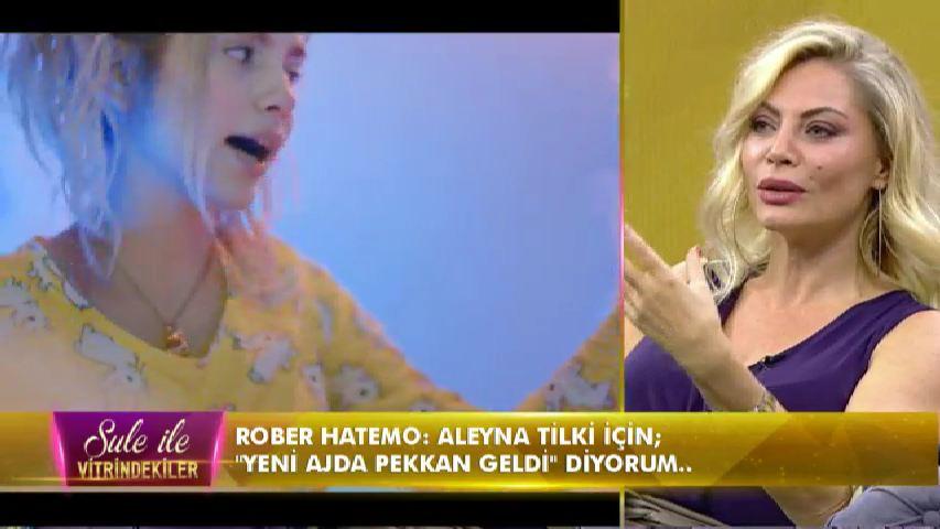 Seray Sever'den Aleyna Tilki'ye sert sözler