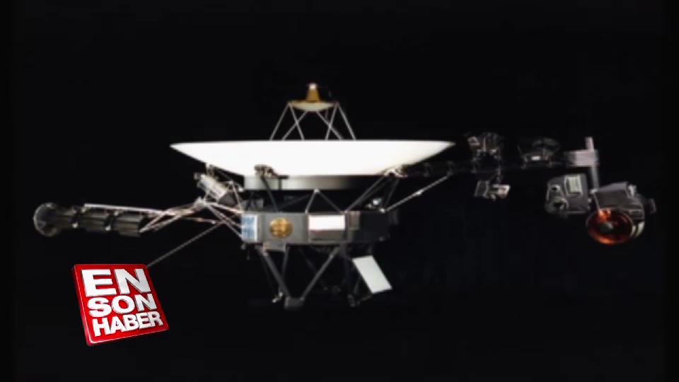 Türkçe selamla 40 yıldır uzayda