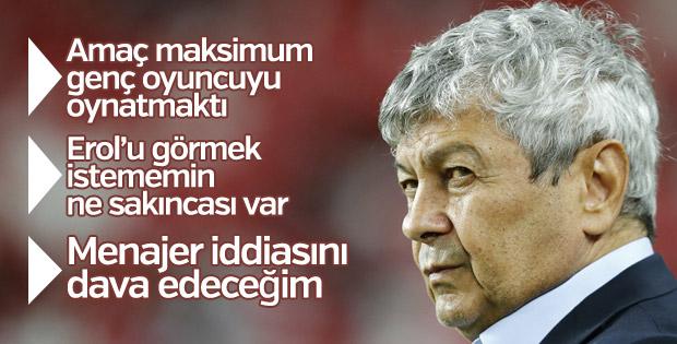 Lucescu: Amaç maksimum genç oyuncu oynatmaktı