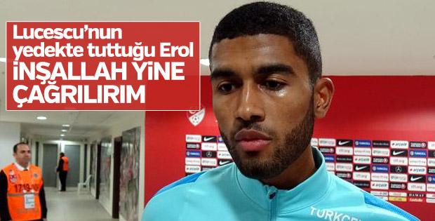 Tartışılan milli futbolcu Erol Erdal Alkan'dan açıklama