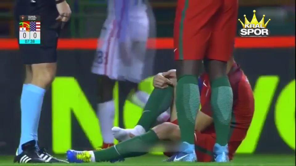 Pepe milli maçta sakatlandı