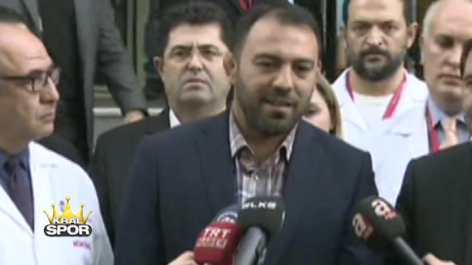 Naim Süleymanoğlu'nun Cumhurbaşkanı'yla diyaloğu