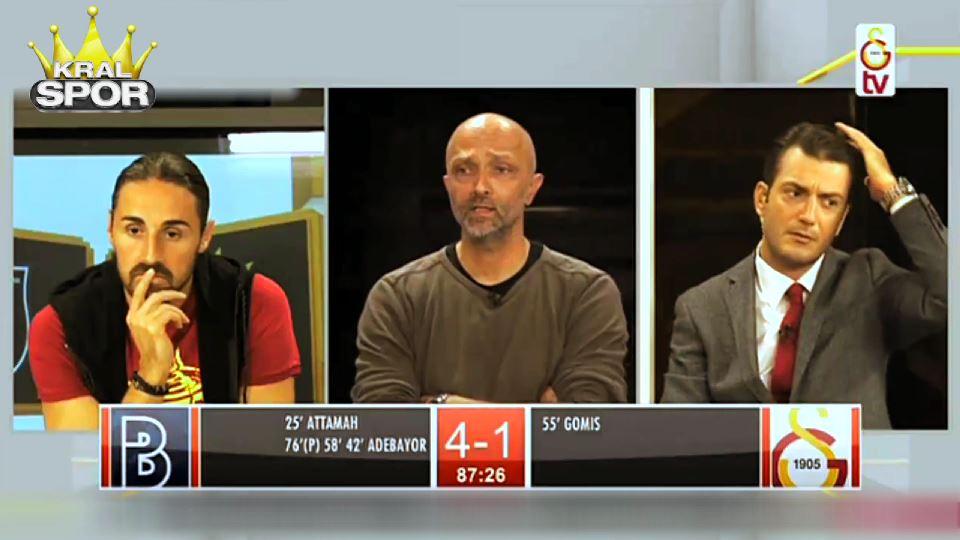 Başakşehir'in 5. golünde GS TV