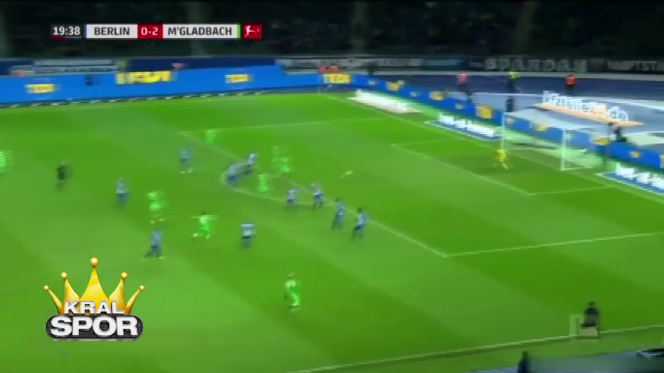 Mönchengladbachlı Raffael'den muhteşem gol