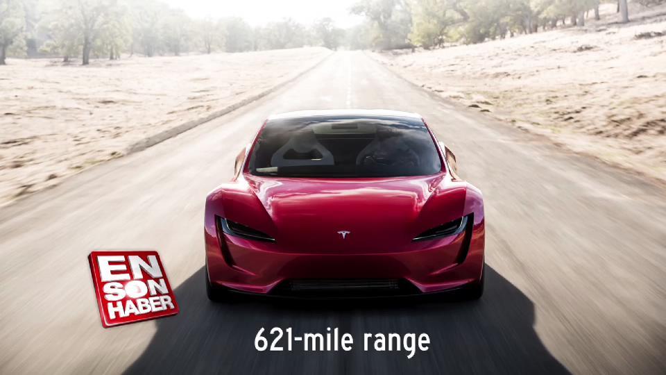 Tesla Roadster 100 km/s hıza 1.9 saniyede çıkabiliyor