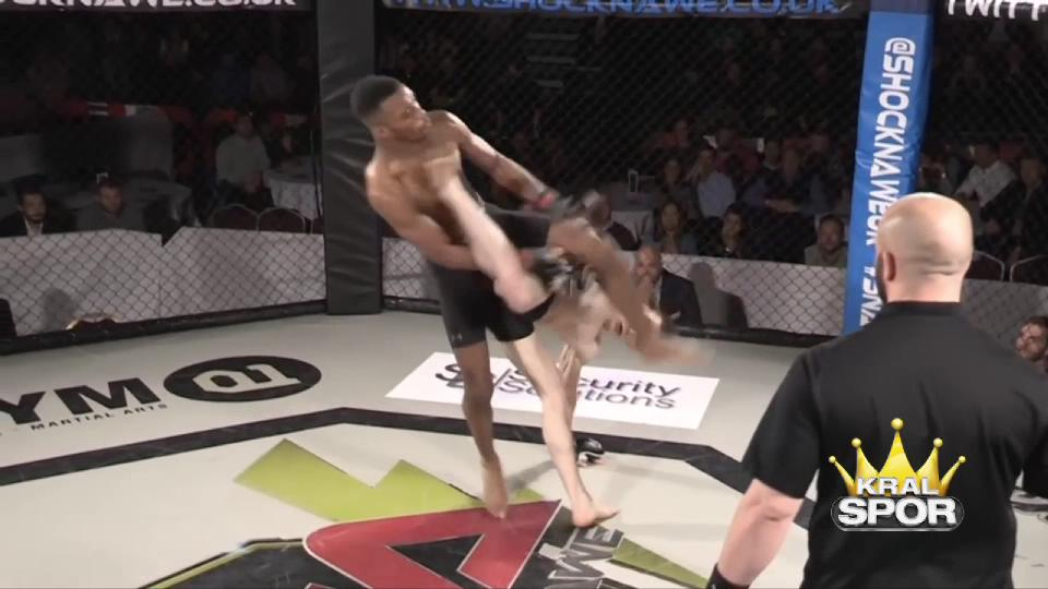 Amatör MMA maçında inanılmaz nakavt
