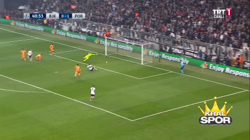 Beşiktaş 1-1 Porto GOL: Talisca