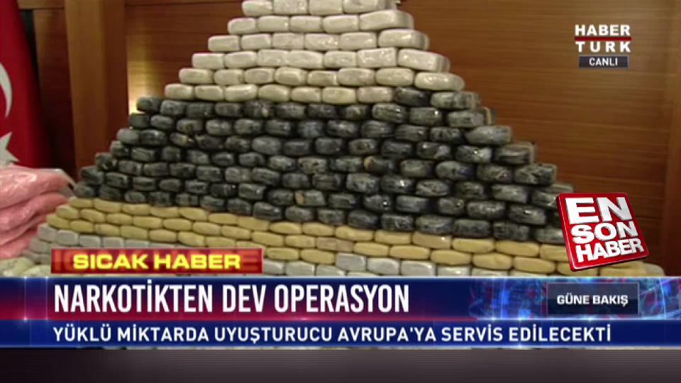 Narkotik 30 milyon lira değerinde uyuşturucu madde ele geçirdi