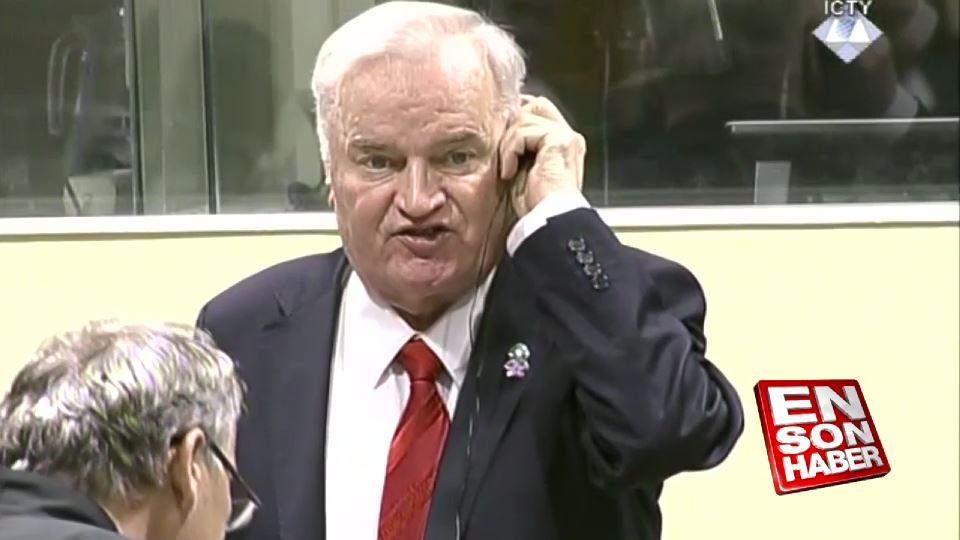Sırp Kasabı Mladic'in son çırpınışları