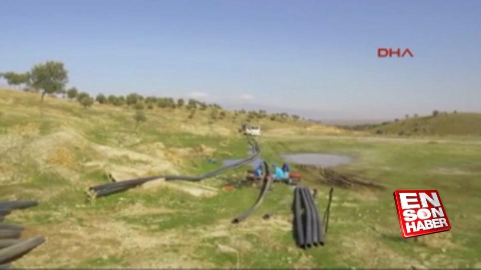 Yeniköy'ün içme suyu sorununda sona gelindi