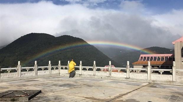 Tayvan'da gökkuşağı rekoru