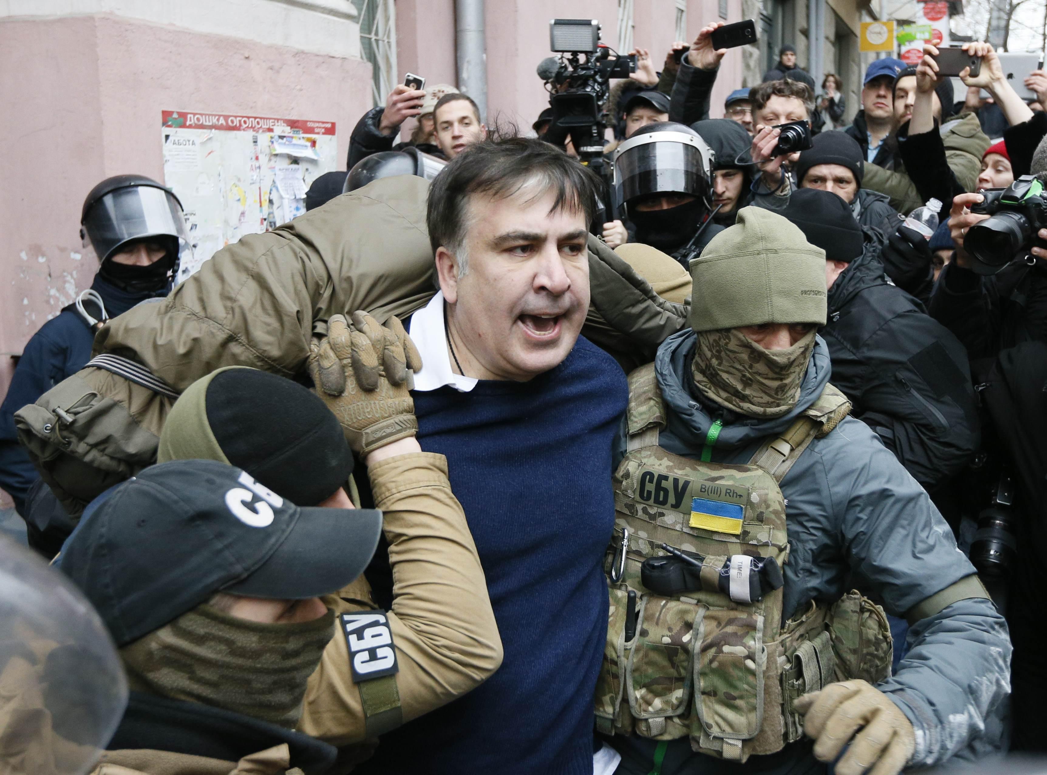 Saakashvili intihar etmeye çalıştı