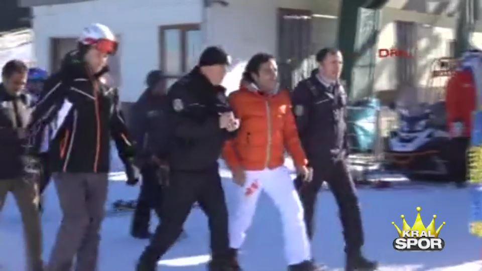 Kayak yarışmasında bıçaklı kavga