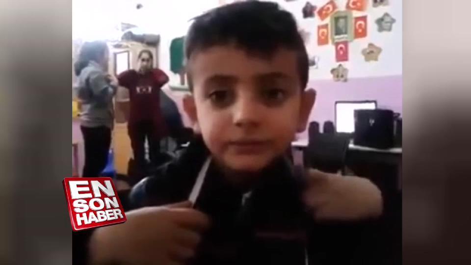 İngilizceden Arapçaya geçen çocuk