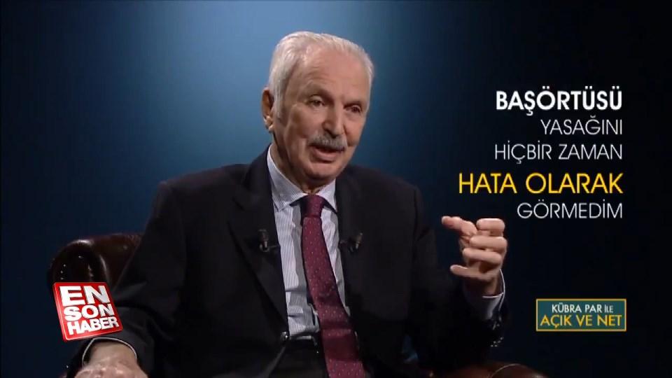 Kemal Alemdaroğlu, başörtüsü yasağını hata olarak görmüyor