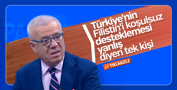 Ertuğrul Özkök Türkiye'nin Filistin'e desteğini eleştirdi