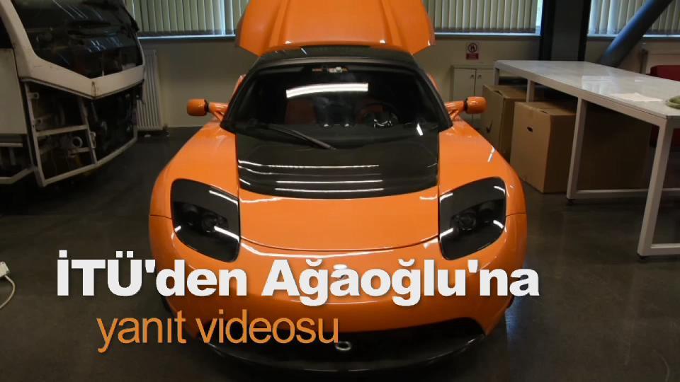İTÜ'den Ağaoğlu'na yanıt videosu