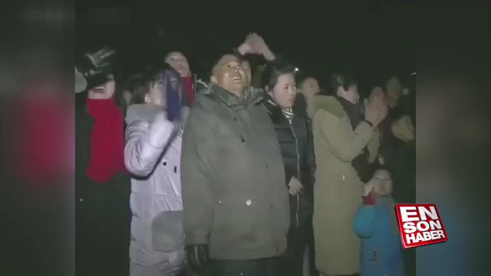 Kuzey Kore'de yılbaşı kutlaması
