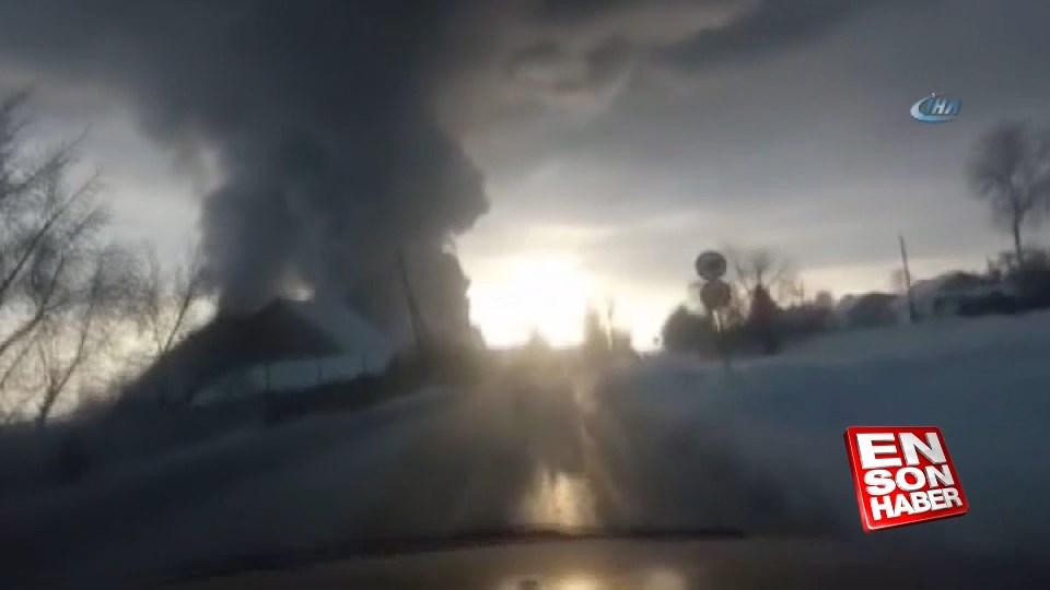 Rusya'da depoda yangın: 10 ölü