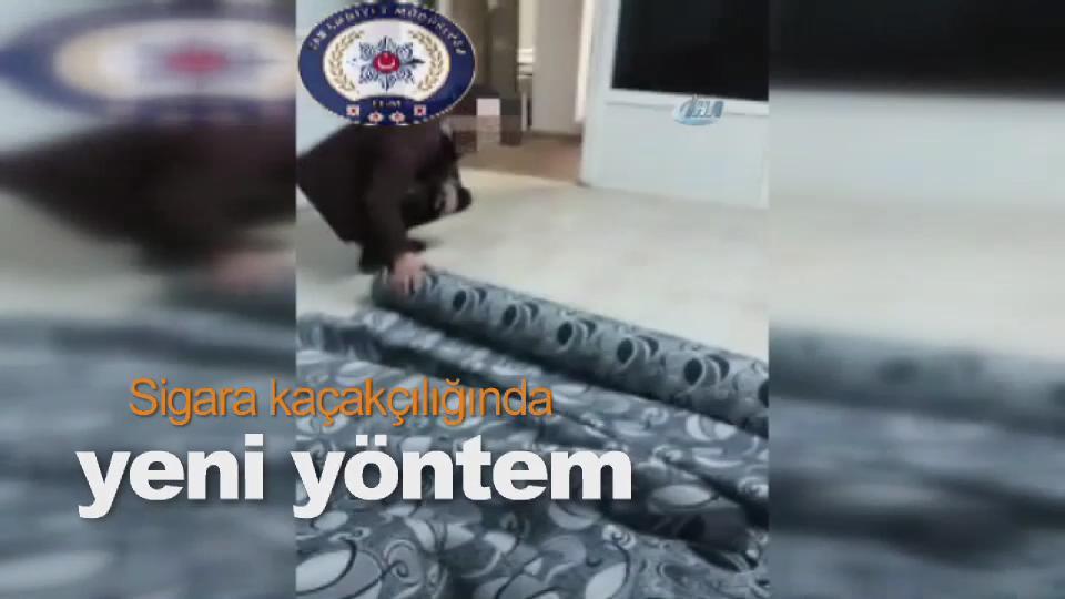 Sigara kaçakçılığında yeni yöntem
