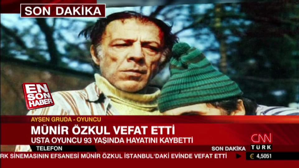 Ayşen Gruda Münir Özkul'un telif haklarını hatırlattı