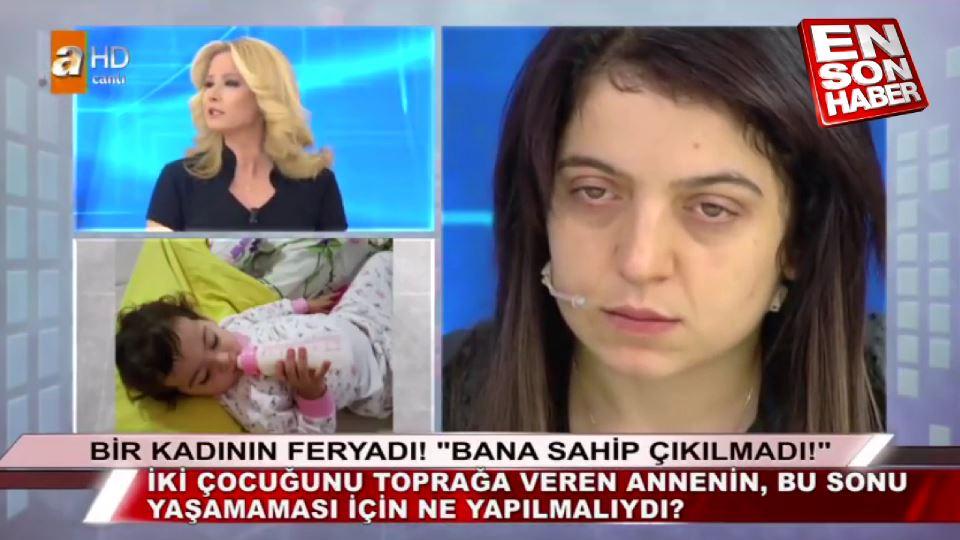 İki Kızını kaybeden annenin canlı yayında isyanı