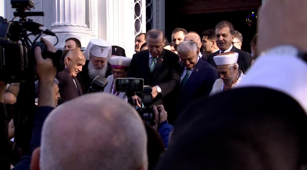 Demir Kilise açılışını Erdoğan ve Borissov yaptı