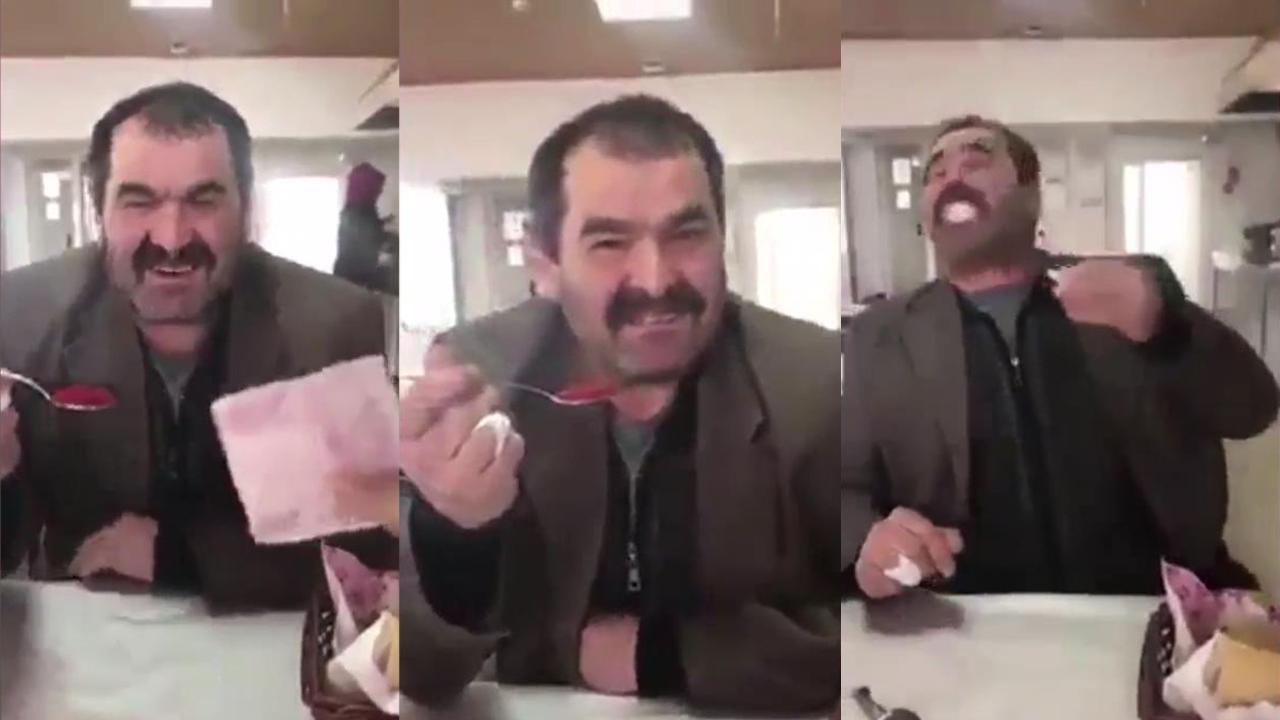 Para için acı biber yiyen adamın acı sonu
