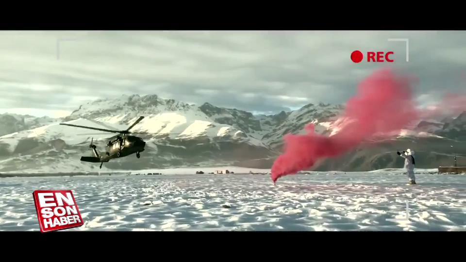 Kahraman askerlerden gururlandıran video