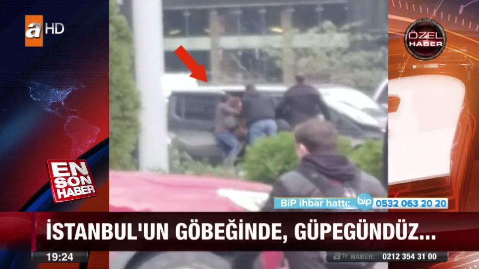 İstanbul'da güpegündüz kız kaçırdılar