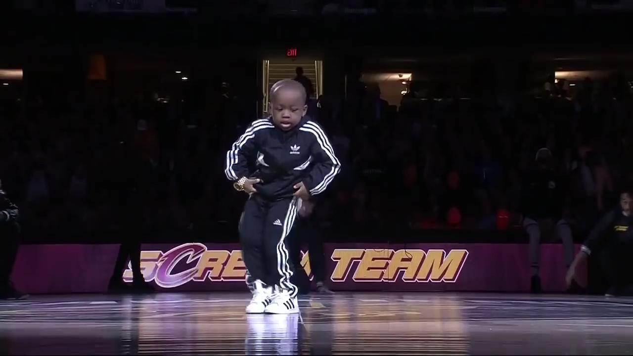NBA maçına damga vuran afacan