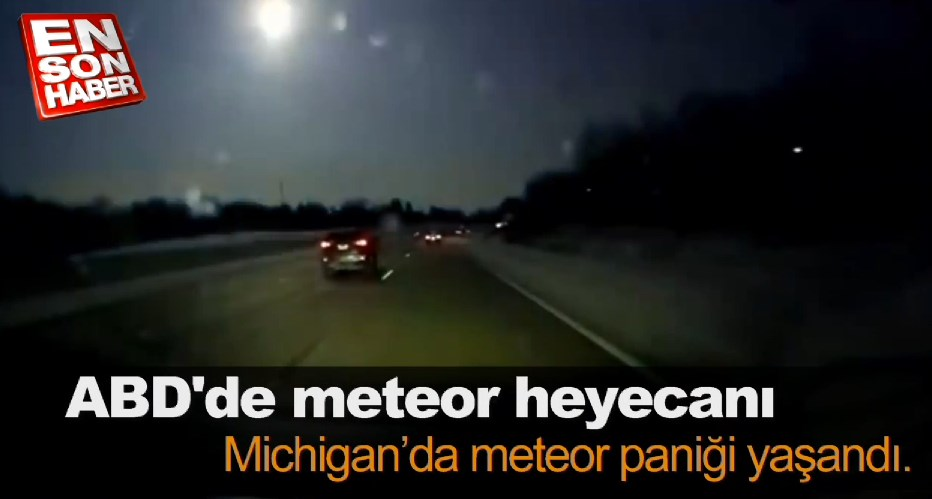 ABD'de meteor heyecanı