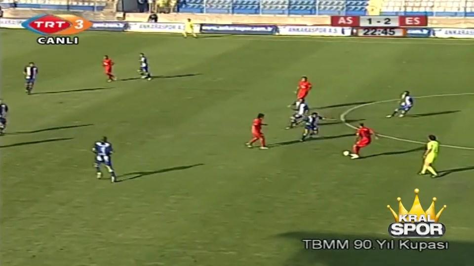 Kadın spiker Semahat'in anlattığı Eskişehirspor maçı