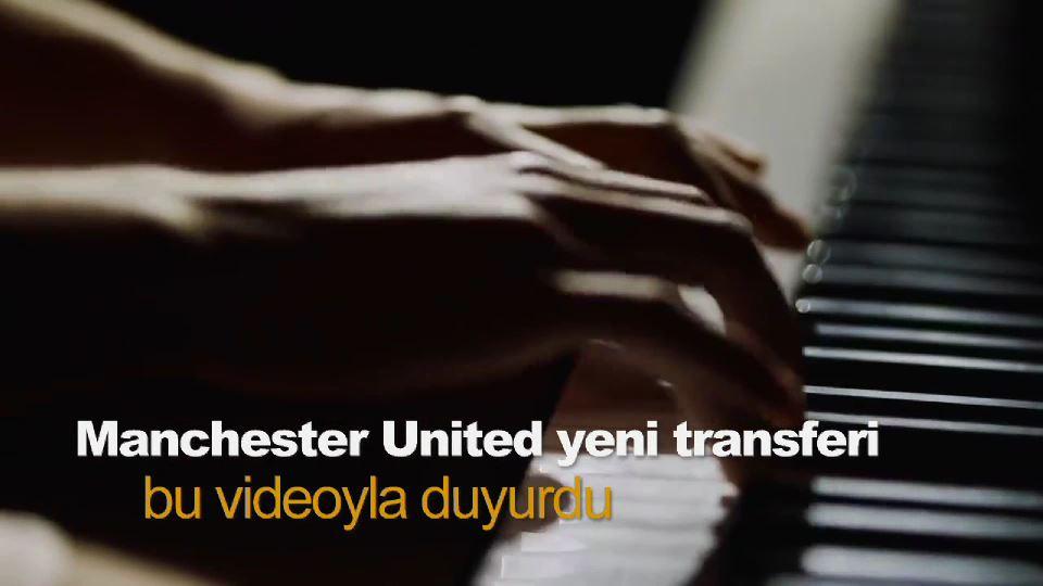 Manchester United yeni transferi bu videoyla duyurdu