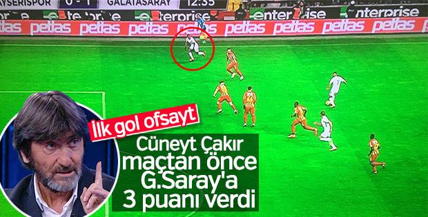 Rıdvan Dilmen'den Cüneyt Çakır'a sert eleştiri