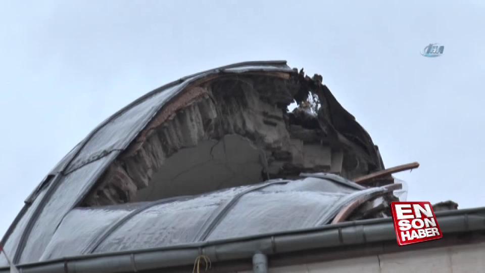 Kilis'e atılan roketin verdiği hasar