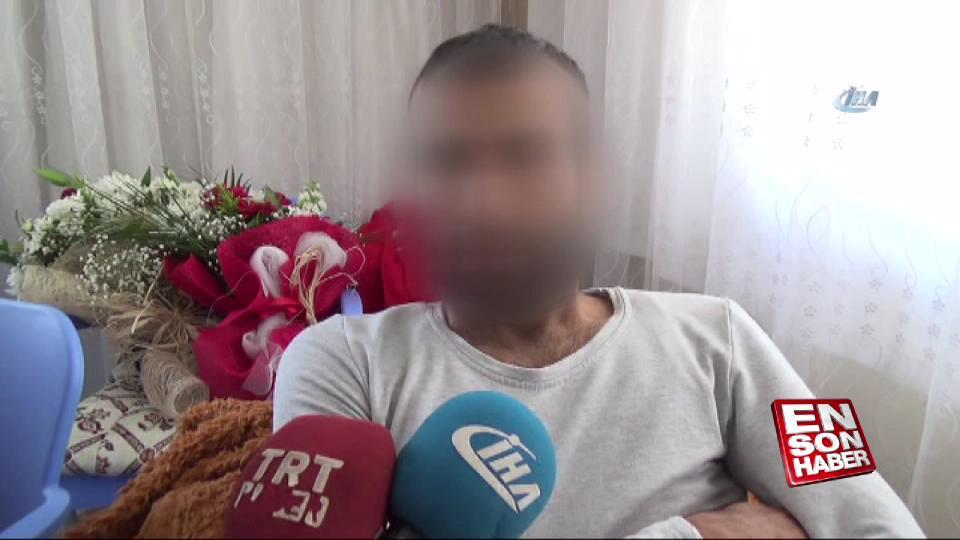 Afrin'de yaralanan asker baba ocağına getirildi