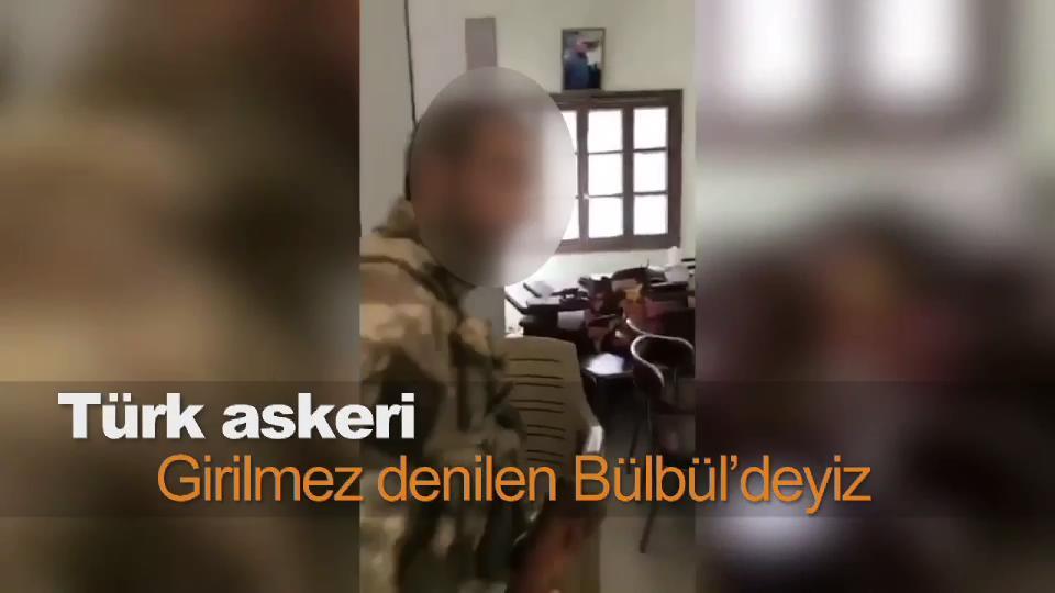 Türk askeri: Girilmez denilen Bülbül'deyiz