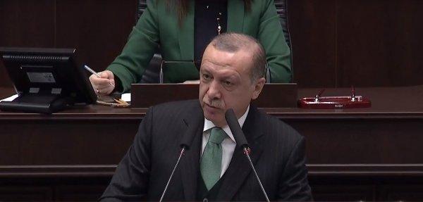 Erdoğan: Hiç Osmanlı tokadı yememiş oldukları çok açık