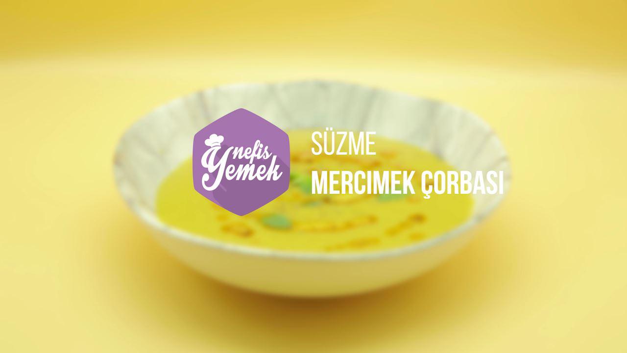 Süzme mercimek çorbası1