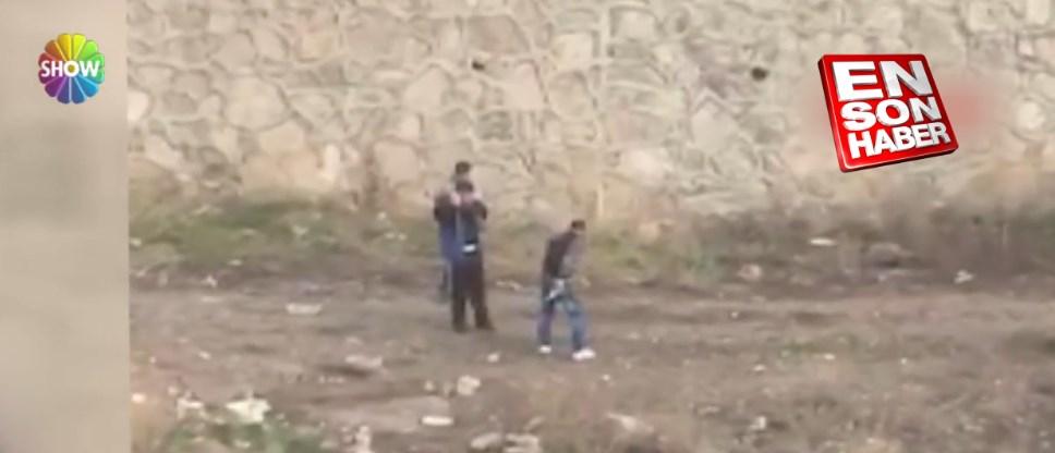 Ankara'da eli silahlı çocuklar