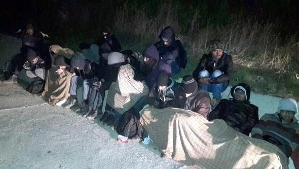 Kaçak göçmenleri Yunanistan diye Tekirdağ'a götürdüler