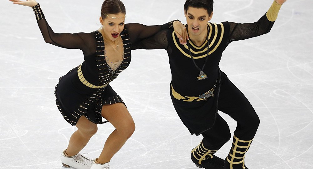 Alper Uçar ve Alisa Agafonova'nın final performansı