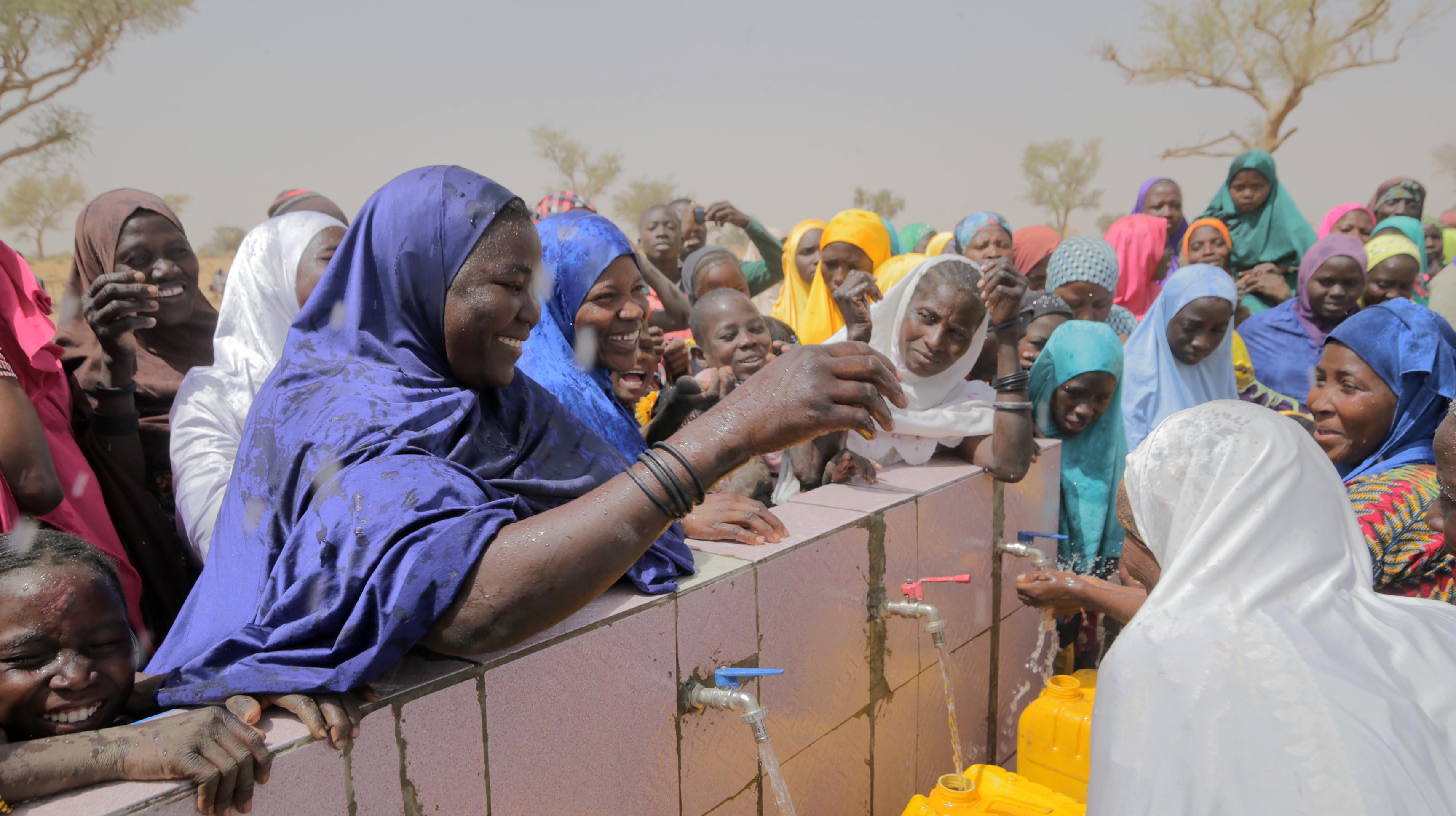 Türkiye Diyanet Vakfı Afrika'da 48 su kuyusu daha açtı