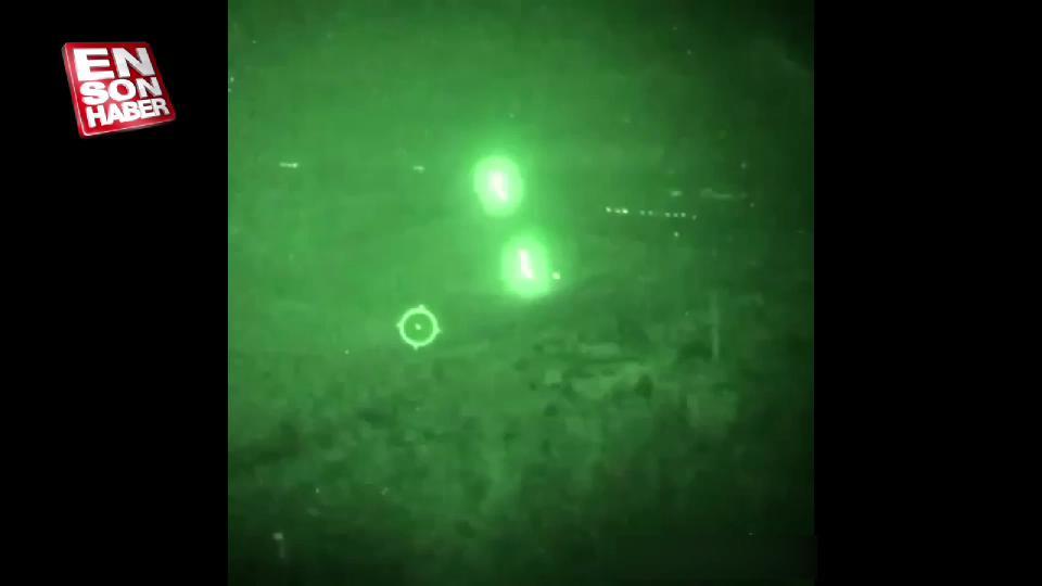 Afrin'de ATAK Helikopleri YPG hedeflerini vurdu